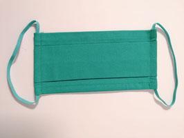 Fremdschutz einfärbig - Faltenmaske für Damen und Herren