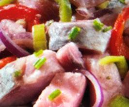 Kräutermatjessalat