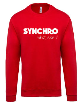 Sweat Synchro Rouge