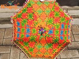◆インド刺繍エスニック日傘R