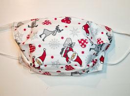 "Behelfsmaske Weihnachtsmaske ""Handmade"" (Nr. 86)"