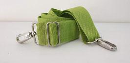 Wechselgurt für Taschen 4 cm grün