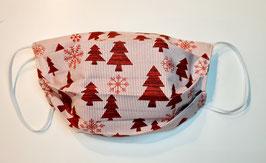 "Behelfsmaske Weihnachtsmaske ""Handmade"" (Nr. 74)"