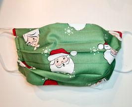 "Behelfsmaske Weihnachtsmaske ""Handmade"" (Nr. 83)"