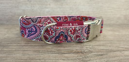 Halsband 2,5 cm (1069) paisley pink