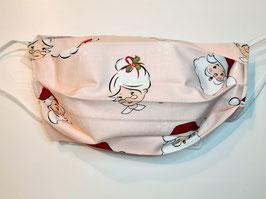 "Behelfsmaske Weihnachtsmaske ""Handmade"" (Nr. 82)"