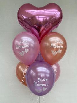 "Ballons LUXURY ""Je T'aime Maman"""