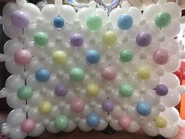 """Mur en ballons """"Photo Booth"""""""