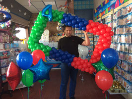 Cadre Photo Booth en Ballons