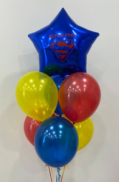 "Ballons LUXURY Héros ""Super Papa"""