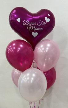 "Ballons LUXURY ""Bonne Fête Maman"""