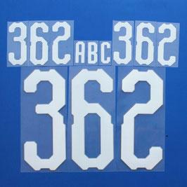 胸番号No.362