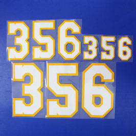 胸番号No.356