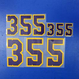 背番号No.355