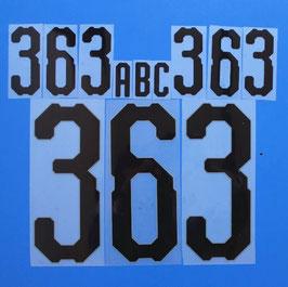 胸番号No.363