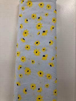 Baumwollstoff Flower Print