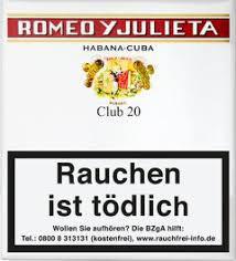 Romeo y Julieta Club Zigarillo