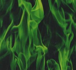 Vlammen groen
