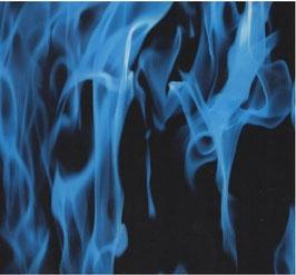 Vlammen blauw