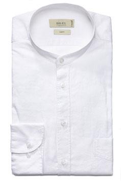 Digel Leinenhemd Kian 1/1, weiss