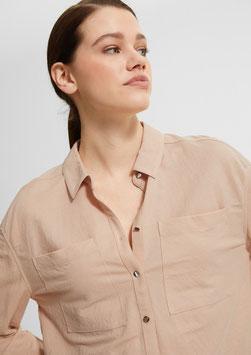 Blusenshirt mit überschnittenen Schultern #todayfortomorrow