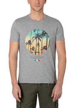 Walking on Sunshine T-Shirt grau melange