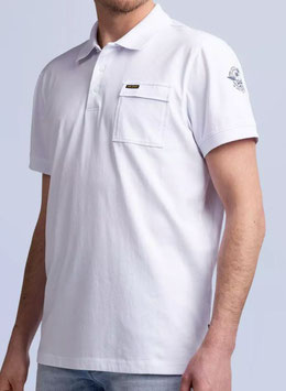 PME Polo Shirt PPSS214879 weiss
