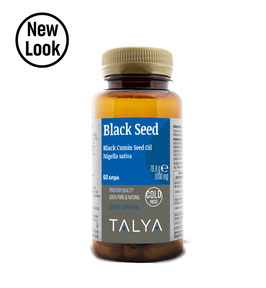 Black Seed Oil Softgel 1000 mg