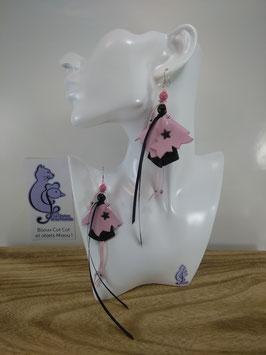 Boucles d'oreille COTINES modèle n°11 (ou votre prénom ?)