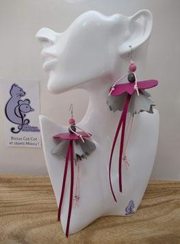 Boucles d'oreille COTINES modèle n°16 (ou votre prénom ?)