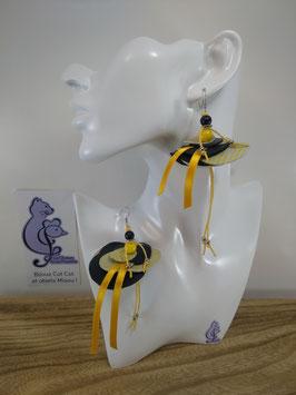 Boucles d'oreille COTINES modèle n°14 (ou votre prénom ?)