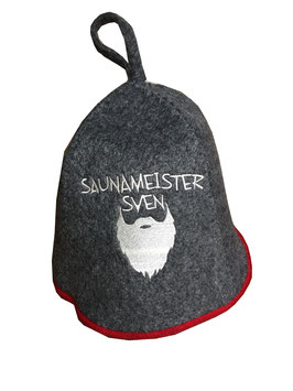 Saunahut Saunameister Sven