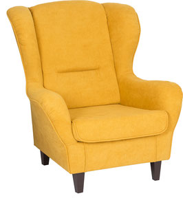 Webstoff, gelb