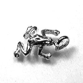 The frog, 925 zilveren hangertje
