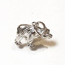 Ijsbeer, zilveren hangertje