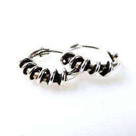 oorringetje zilver per paar ear-0052