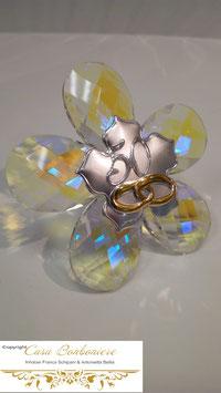 Kristall Blume 50 Jähriges Jubiläum