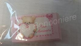 Geschenkkärtchen/Carte Regalo Bambini mit Teddy
