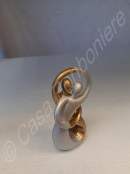 Paar Silber/Gold