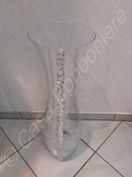 Große Glitzer Vase