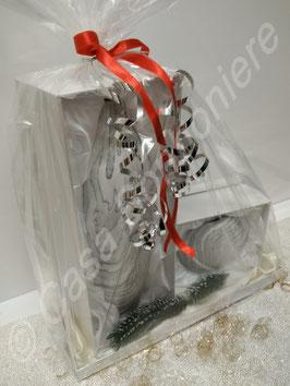 Geschenkidee 2er Set Vase und Windlicht