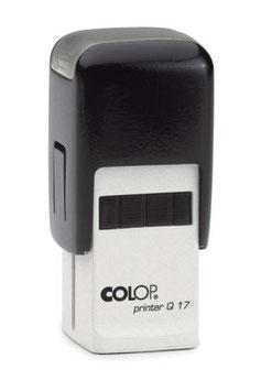 mini tampon Logo 11x11mm 1 couleur