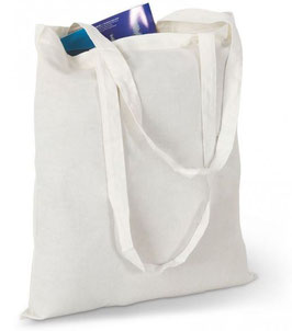 100 sacs coton écru avec impression 1 couleur