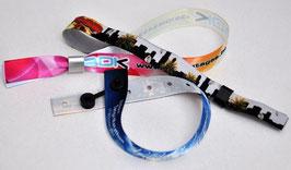 200 Bracelets Textiles Imprimés