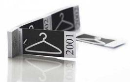 Carnets de coupons vestiaire verso personnalisé avec votre logo