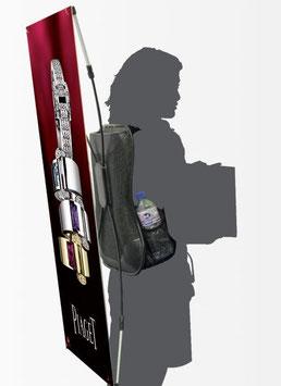 Sac à dos Banner publicitaire