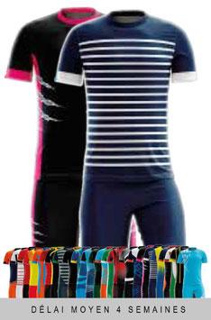 x6 maillots + Shorts personnalisés