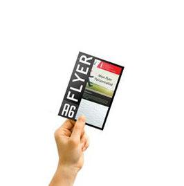 Flyers A6 Recto Verso 10,5x14,8cm