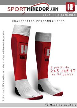 x35 paires de chaussettes personnalisées