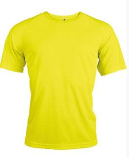 Lot Tee-shirts respirants + Personnalisation 1 Face petit format 1 couleur